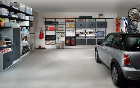 domótica en garaje