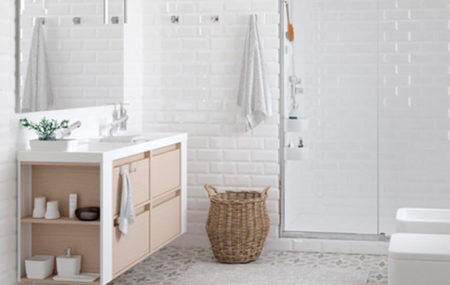 domótica en baño